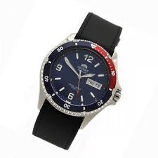 Orient 5 Deep Automático Día Fecha MAKO II Reloj Para Buceo de hombre cuero