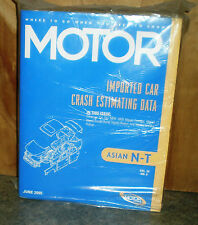 Motor Crash Estimating Guide - ASIAN N THRU T - JUNE 2005 VOL.32 NO.6