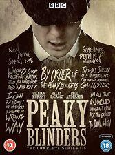 Peaky Blinders - Series 1 - 5 Box Set - BRAND NEW AND SEALED