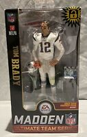 TOM BRADY PATRIOTS  MCFARLANE TOYS MADDEN NFL ULTIMATE TEAM SERIES