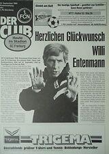 Programm 1993/94 1. FC Nürnberg - SC Freiburg