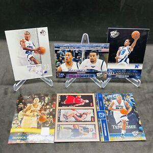 (6)2008 Press Pass Basketball #45 Derrick Rose All Americans Memphis Tigers Lot