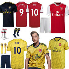 19-20 New Football Full Kit Kids Youth Boy Custom Jersey Strips Sports Suit OZIL