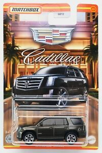 2021 Matchbox Cadillac #1 2015 Cadillac® Escalade DARK GRANITE METALLIC / MOC