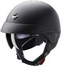Jet Casque Scorpion EXO-100 Taille:L Couleur: Noir Mat Moto Chopper Scooter
