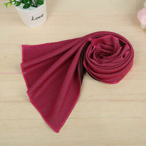 Absorbent Fitness Dry Cooling Sports Towel For Gym Exercise face Sweat Towels #Q