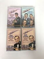 Best of Big Bands 4 Cassettes Readers Digest Collection Swing Jazz