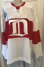 DETROIT RED WINGS AUTHENTIC WHITE 2009 WINTER CLASSIC JERSEY CCM WITH TAGS!