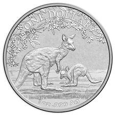 1 oz Silber 1 Dollar Känguru Seasons Change Australien 2017 Frunc gekapselt