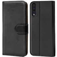Book Case Samsung Galaxy A30s Hülle Tasche Klapphülle Flip Cover Handy Schutz
