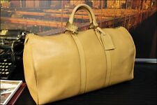 "LOUIS VUITTON 100% Authentic 18"" Medium Leather Mens Duffle Cabin Carryall Bag"