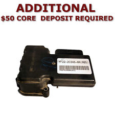 REMAN 1998-2000 Ford Windstar ABS Pump Control Module NO TRACTION >EXCHANGE<