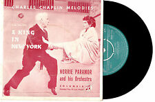 """NORRIE PARAMOR & ORCH - A KING IN NEW YORK - EP 7"""" 45 VINYL RECORD PIC SLV '57"""