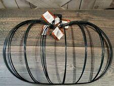 Lot 5 Floral Garden Pumpkin Wreath Metal Wire Form Fall Halloween Frame Mesh Diy