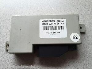 1994-1999 MERCEDES-BENZ S320 S420 S500 W140 ~ ANTI THEFT CONTROL UNIT ~ OEM PART