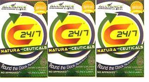 AIM GLOBAL C24/7 Vitamin C, A, D, B, E, Zinc ALL IN 1 High ORAC Calcium 10 Caps