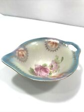Porcelain Bowl with Handle and Spout Made in Germany Roses