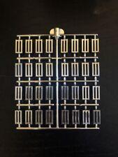 HTF // RARE 32 Harpoons Authentic LEGO Prototype Sprue Chrome Silver Harpoons