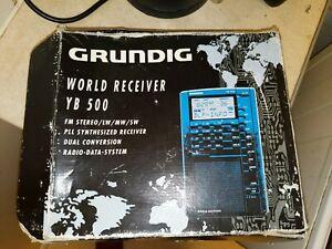 GRUNDIG YB500 WORLD RECIEVER YACHT BOY