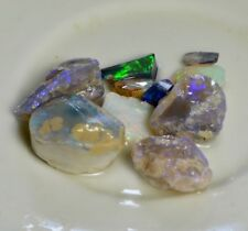 Australian Solid Rough Opal Parcel,Black Opal, Lightning Ridge,Bright, Natural