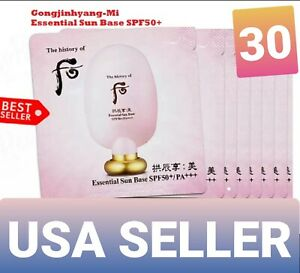 The history of Whoo/ Essential Sun Base SPF 50+ PA+++ Makeup Base 1ml x30pcs