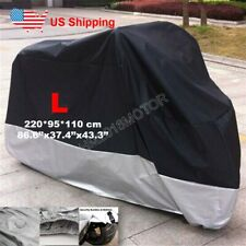 L Waterproof Motorcycle Cover Protector for Honda CB 750 900 1000 1100 A C Four