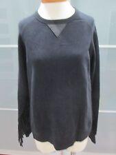 Each x Other Limited Edition Ruiz Stephinson Fringed Sleeve Sweatshirt Size M