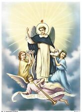 Catholic Print Picture ST. VINCENT FERRER Dominican - ready to frame 7 1/2x10""
