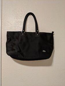 Lacoste Tote Black Bag