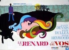 FOX Belgian movie poster SANDY DENNIS ANN HEYWOOD LESBIAN GAY RAY ELSEVIERS 1968