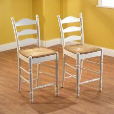 Counter Height Stools Set Under Bar Kitchen Chairs White Modern Wood Furniture
