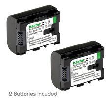2x Kastar Battery for JVC BN-VG107 Everio GZ-E10 GZ-E100 GZ-E200 GZ-E300 GZ-E505
