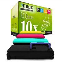 10x MWT Eco Cartridge for Kyocera FS-C-5350-DN FS-C-5300-DN Ecosys P-6030-cdn