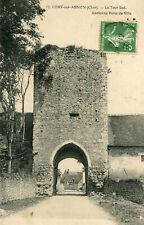Carte LURY SUR ARNON La Tour Sud Ancienne Porte de Ville