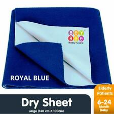 Bey Bee Just Dry Baby Care Waterproof Bed Protector Sheet - Large 140cm X 100cm