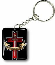 Porte clés clefs keychain voiture moto drapeau templier knights templar sceau r5