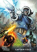 CAPTAIN COLD / DC Comics Super-Villains (Cryptozoic 2015) BASE Trading Card #14