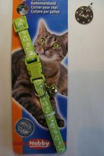 Collar de color principal verde para gatos