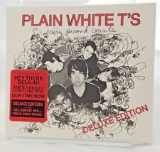 Every Second Counts Deluxe Edition by Plain White T's CD 2007 2 Discs