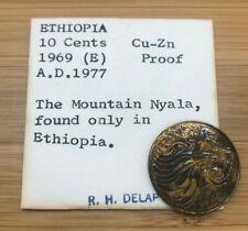 1969 10 CENTS ETHIOPIA MOUNTAIN NAYLA