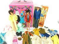 Vintage1960s Brunette Ponytail Barbie lot w/1966 Twist n Turn Barbie 1960s Allan