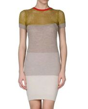 McQ by Alexander Mcqueen knitted dress cotton wool short sleeves size Small US 4