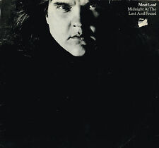 "MEAT LOAF Midnight At The Lost And Found 12"" LP TOM DOWD Epic UK 450360 1 @A5/B5"