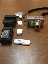 Fujifilm FinePix F Series F31fd 6.3MP Digital Camera - Silver 2GB Card + Extras