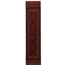 5921 # Lovely Handmade Turkish Design Mashwani Hallway Runner Rug 247 x 57 cm