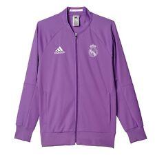 Adidas hombre Gents Fútbol Soccer Real Madrid himno chaqueta Top Violeta morado S