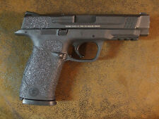 Black Rubber Grip Enhancements for Smith & Wesson M&P 9mm/40 Cal/22 LR/357 Sig