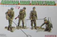KIT DRAGON 1:35 GERMAN SOLDATI MINE DETECTORS 1939-1945 SERIES  6280