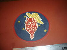 WWII USAAF SATANS ANGELS 431 ST FIGHTER SQ 475 FG  5 TH AAF FLIGHT JACKET  PATCH
