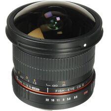 Canon Mount Fisheye Samyang 8mm f/3.5 IF MC Aspherical Lens